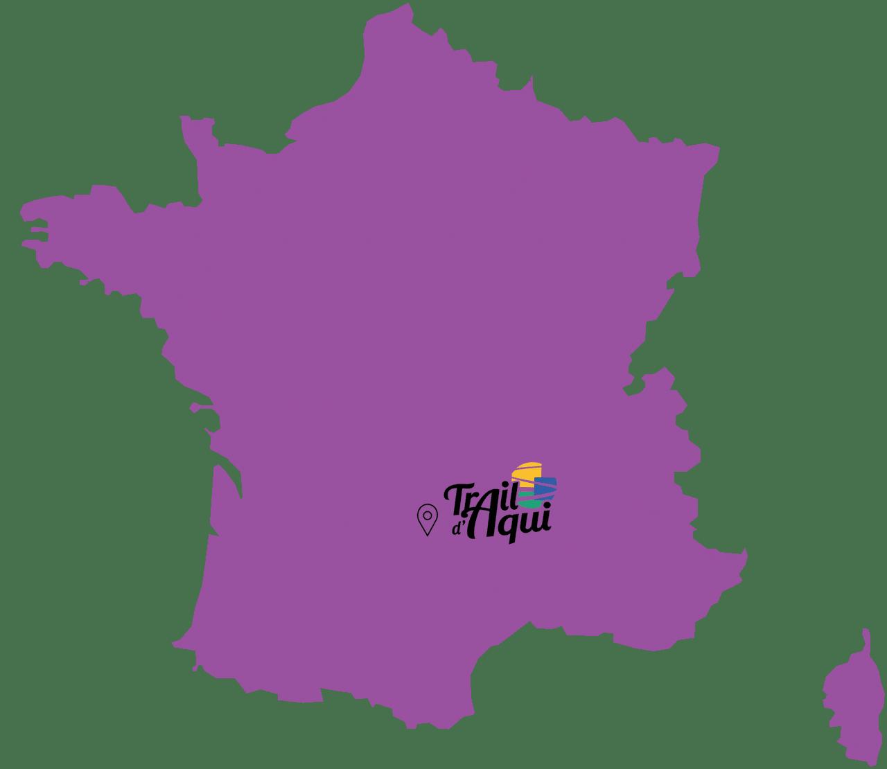 Position France duTrail d'Aqui est l'espace trail de la Communauté de Communes Comtal Lot Truyère. 21 parcours (Bessuéjouls, Bozouls, Campuac, Coubisou, Entraygues, Espalion, Espeyrac, Estaing, Gabriac, Golinhac, La Loubière, Lassouts, Le Cayrol, Le Fel, Le Nayrac, Montrozier, Rodelle, Saint-Côme-d'Olt, Saint-Hippolyte, Sébrazac, Villecomtal) et 2 parcours demi-kilomètre vertical permettent de découvrir plus de 500 kilomètres de chemins et monotraces.