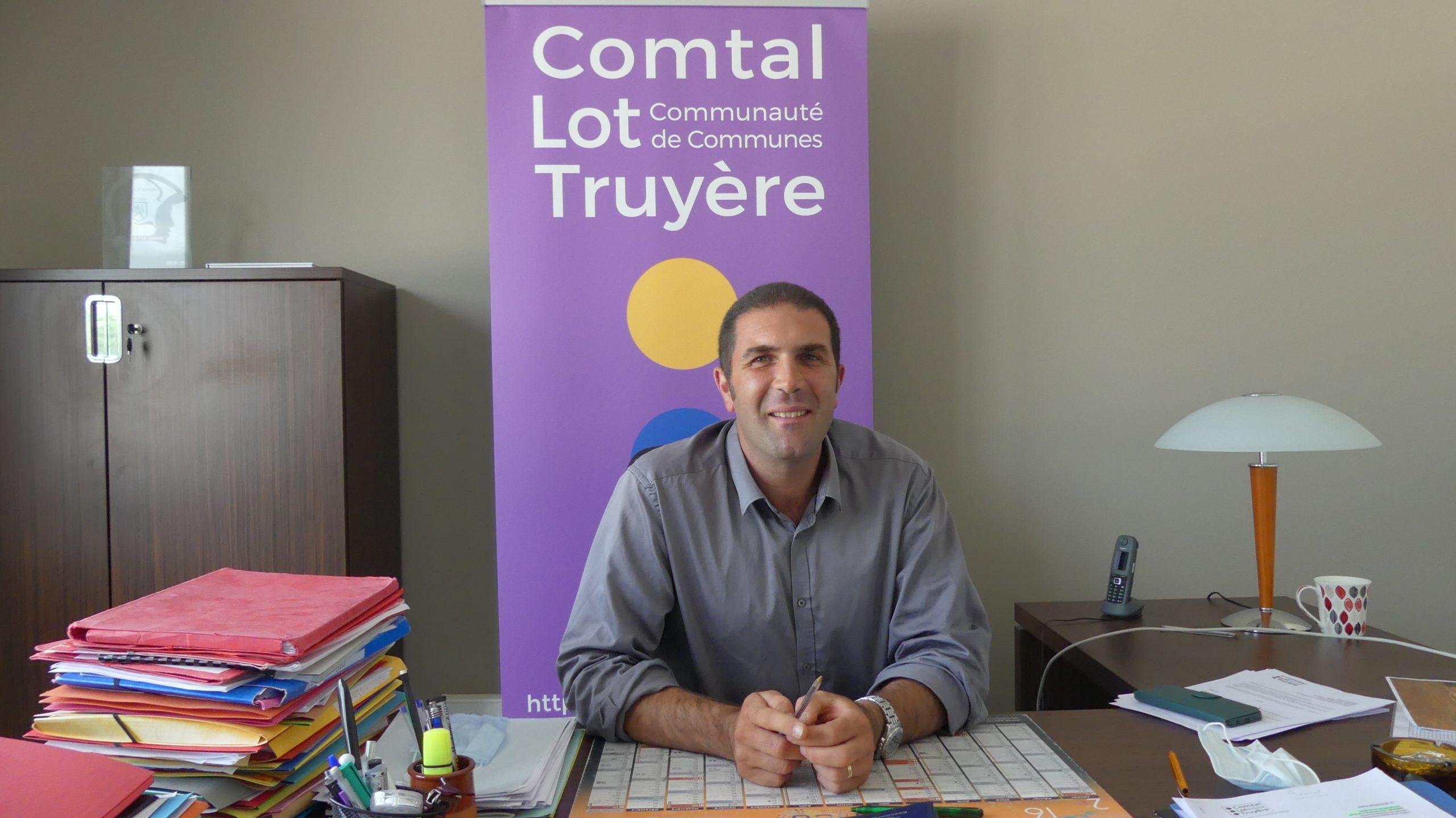 Nicolas Bessiere Président de la Communauté de Communes Comtal Lot Truyère